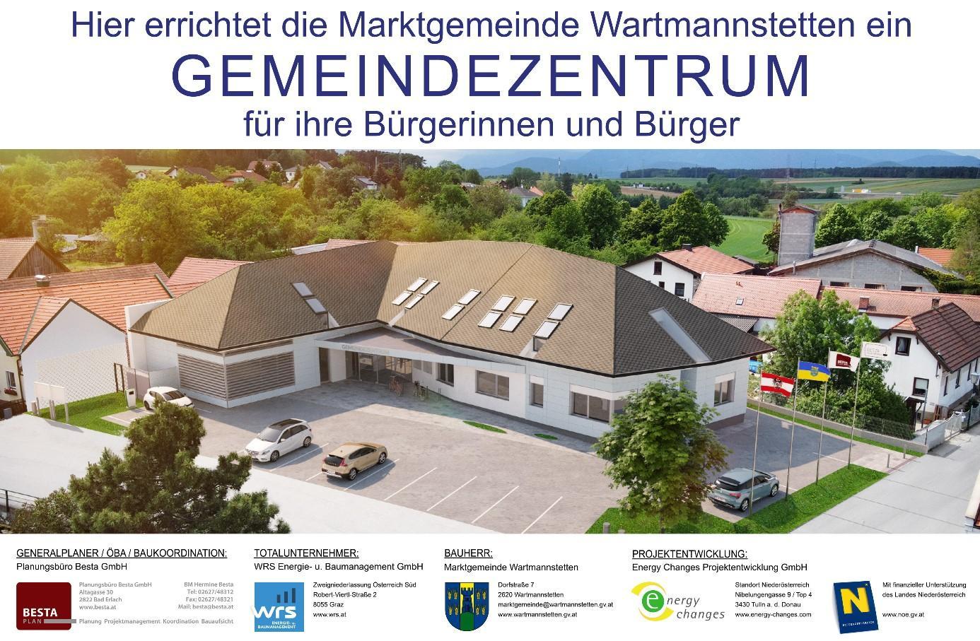 Gemeindezentrum Wartmannstetten