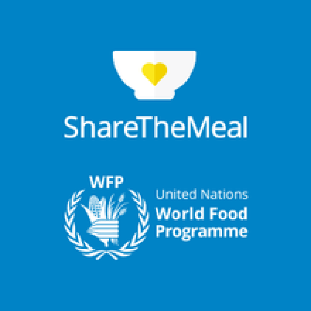 You can support the ShareTheMeal campaign